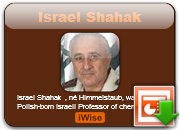 Israel Shahak quotes and quotes by Israel Shahak - Page : 1