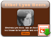 Ethel Lynn Beers Net Worth